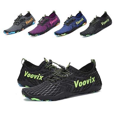 298a1a858757b Amazon.com | Leaproo Men Women Water Shoes Aqua Socks Barefoot Swim ...