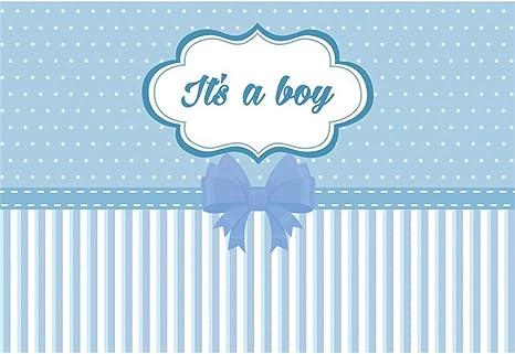 YongFoto 1,5x1m Baby Shower Fotografía Fondo Es un niño Corbata de ...