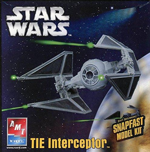 AMT ERTL 1: 51Star Wars Tie Interceptorプラスチックモデルキット# 38312の商品画像