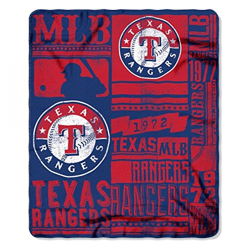 The Northwest Company Texas Rangers Strength Fleece Blanket