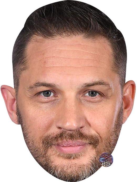 Tom Hardy Beard Card Face and Fancy Dress Mask Celebrity Mask