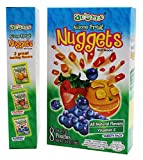 florida natural fruit nuggets - Fruit Juice Nuggets Gift Box Snack - 3 Boxes of 8 pack - Kosher All Natural Flavors Vitamin C - By Au'Some