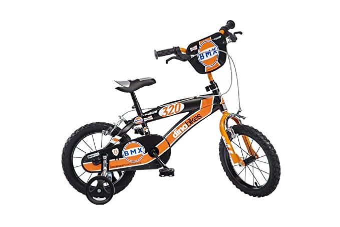 9d4c546e647b68 Dinobikes Dino Bikes BMX Garçon Marque 14 Pouces de 4 à 6 Ans, 145XC   Amazon.fr  Jeux et Jouets