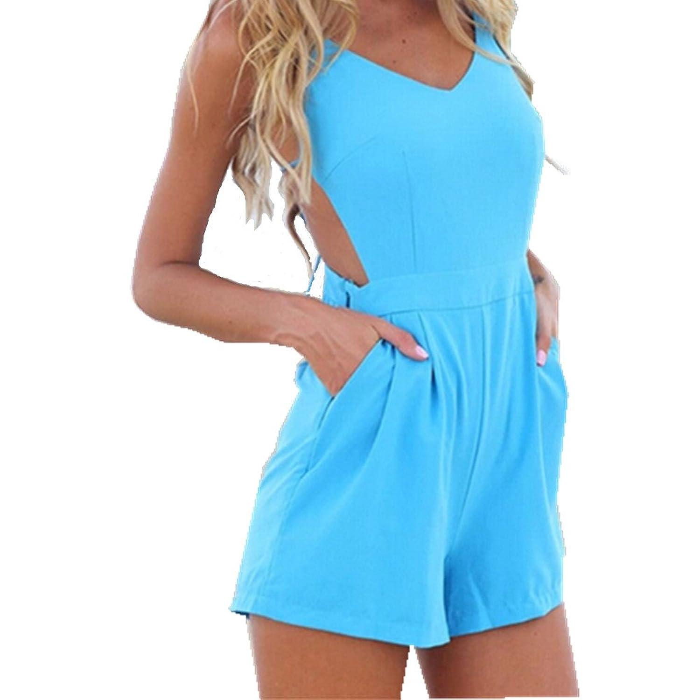 xhorizon TM Sexy Playsuit Party Evening Summer Ladies Dress Jumpsuit Shorts