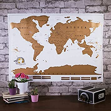 The original luckies of london scratch off world map poster the original luckies of london scratch off world map poster personalized detailed cartography deluxe gumiabroncs Images