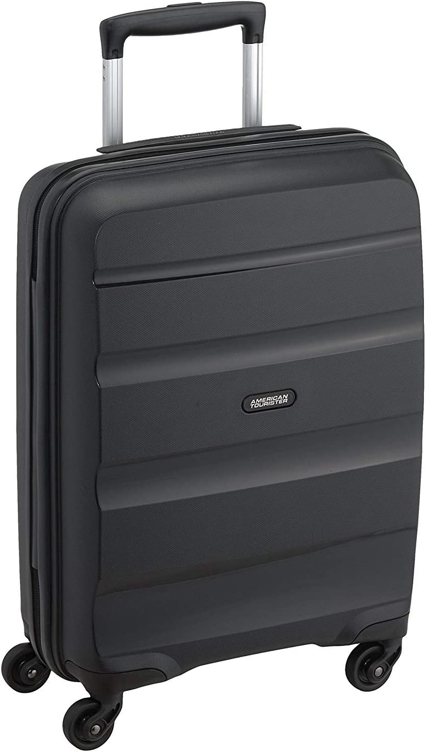 American Tourister - Bon Air - Spinner Equipaje de mano 55 cm, 32 L, Negro