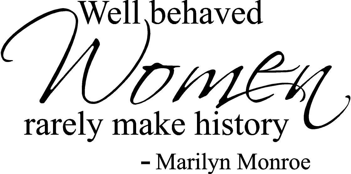 Marilyn Monroe Wall Quotes Sticker For Girls Room  Part 88
