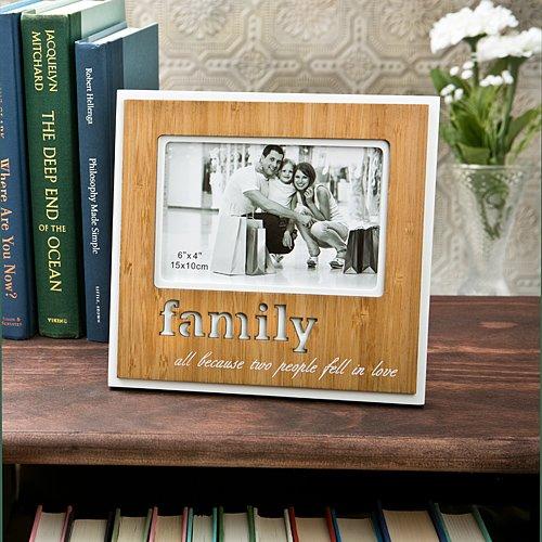Lovely FAMILY Photo Frame -