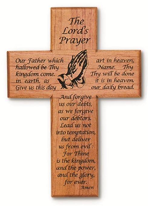 "Amazon.com: Señores Prayer Con rezando manos 8"" sólida ..."
