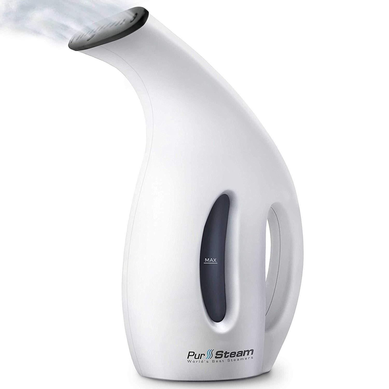 PurSteam Next Gen Steamer [2018] 7-in-1 Powerful Multi Use: Clothes Wrinkle Remover-Clean-Sterilize-Sanitize-Refresh-Treat-Defrost Garment/Home/Kitchen/Bathroom/Car/Travel PurSteam World' s Best Steamers
