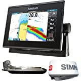 Simrad GO9 XSE Chartplotter/Fishfinder w/TotalScan Transducer... [000-13763-001]