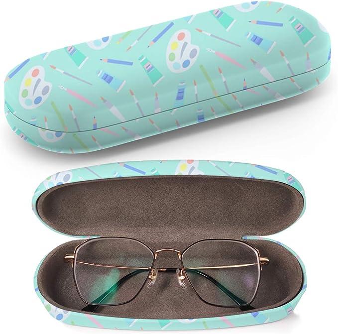 Art-Strap Funda rígida para gafas, estuche para gafas de sol, caja de plástico con paño de limpieza para gafas (pinceles para pintar): Amazon.es: Ropa y accesorios