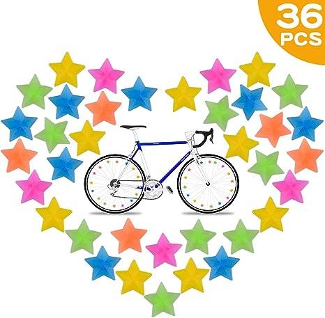 Bolas de Radios de Bicicleta de Plástico 36 Piezas, Accesorios ...