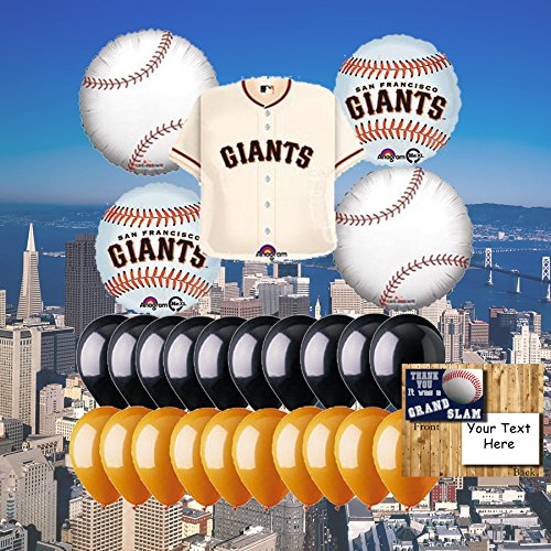 San Francisco Giants 25 Piece Balloon Set