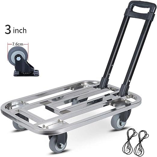 Hand Truck Dolly Folding Utility Cart Pallet Box Lift Moving Heavy Duty Carts