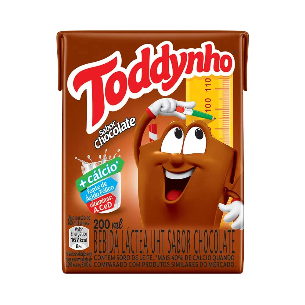 Toddynho - Chocolate Drink - 6.76 Fl Oz (PACK OF 09) | Bebida Sabor Chocolate - 200ml: Amazon.com: Grocery & Gourmet Food