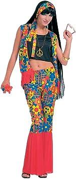 Disfraz de mujer hippie para mujer flores disfraces disfraz de hippie ...