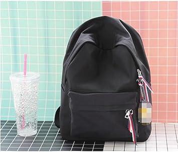 mochilas escolares juveniles chica,mochilas escolares juveniles para chicas, lienzo,39*28CM,Negro: Amazon.es: Deportes y aire libre