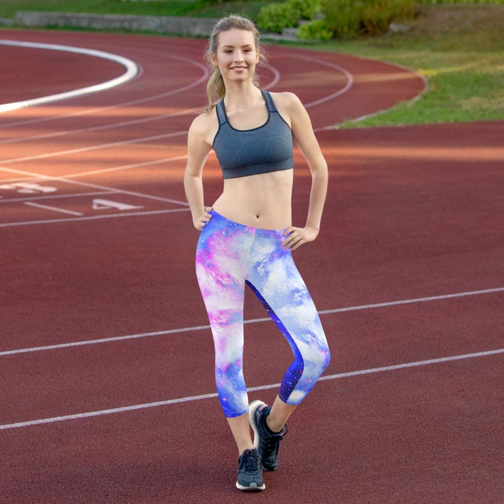 Eye of Illumination Designs Lilannah Star Desires Capri Leggings