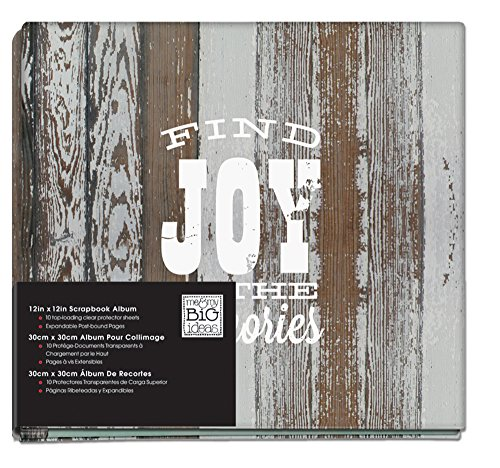me & my BIG ideas American Sweetheart Find Joy Album, 12-Inch by 12-Inch