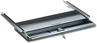 product image for HON D8S Center Drawer for Double Pedestal Desks, Metal, 24-3/4 x 14-3/4 x 3, Charcoal