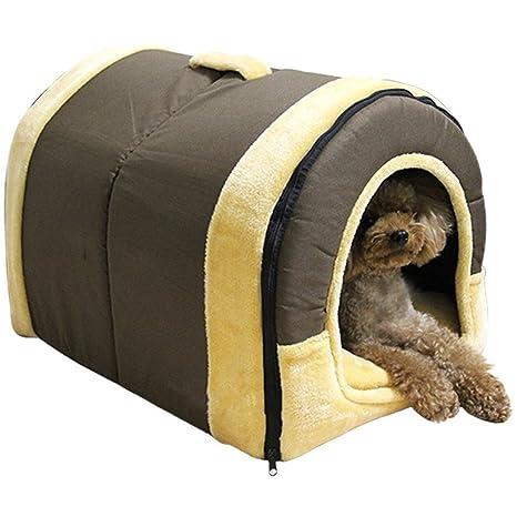 XCXpj - Cama de iglú Antideslizante para Mascotas y sofá, para Perros y Gatos,