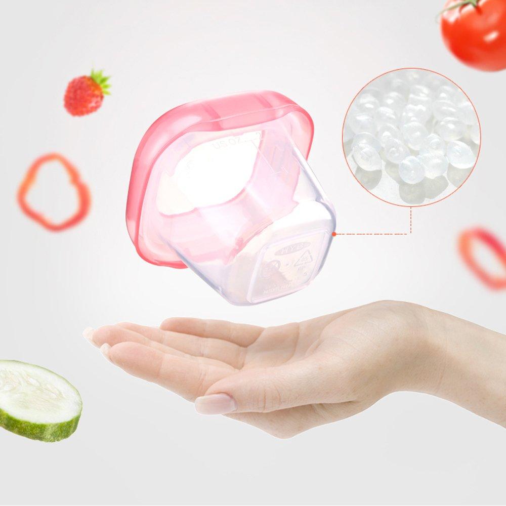 Hmjunboys Babybrei Aufbewahrung Babynahrung Einfrieren Behälter Mit Silikondeck