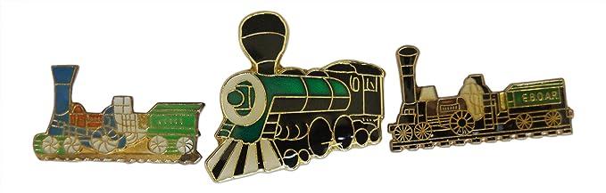 Novel Merk - Juego de alfileres y alfileres de solapa, para tren ...