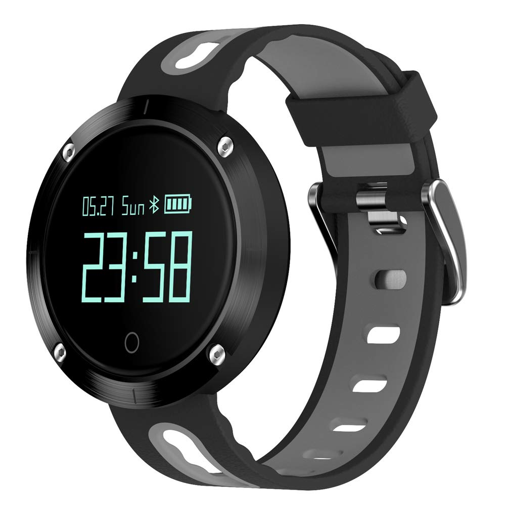 YANGYA Smart Bracelet, Ip67 Waterproof Activity Tracking Pedometer Sleep Monitor with Step Calorie Fitness Watch Compatible with Android iOS Phone-B by YANGYA