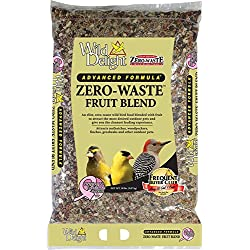 Wild Delight Zero-Waste Fruit Blend Bird Food, 20 Lb