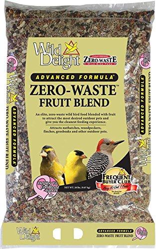 Food Bird 20 Wild Lb (Wild Delight Zero-Waste Fruit Blend Bird Food, 20 lb)
