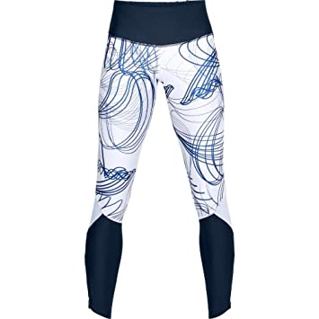 Under Armour Fly Fast Printed Tight Leggings, Mujer, Azul (408), S