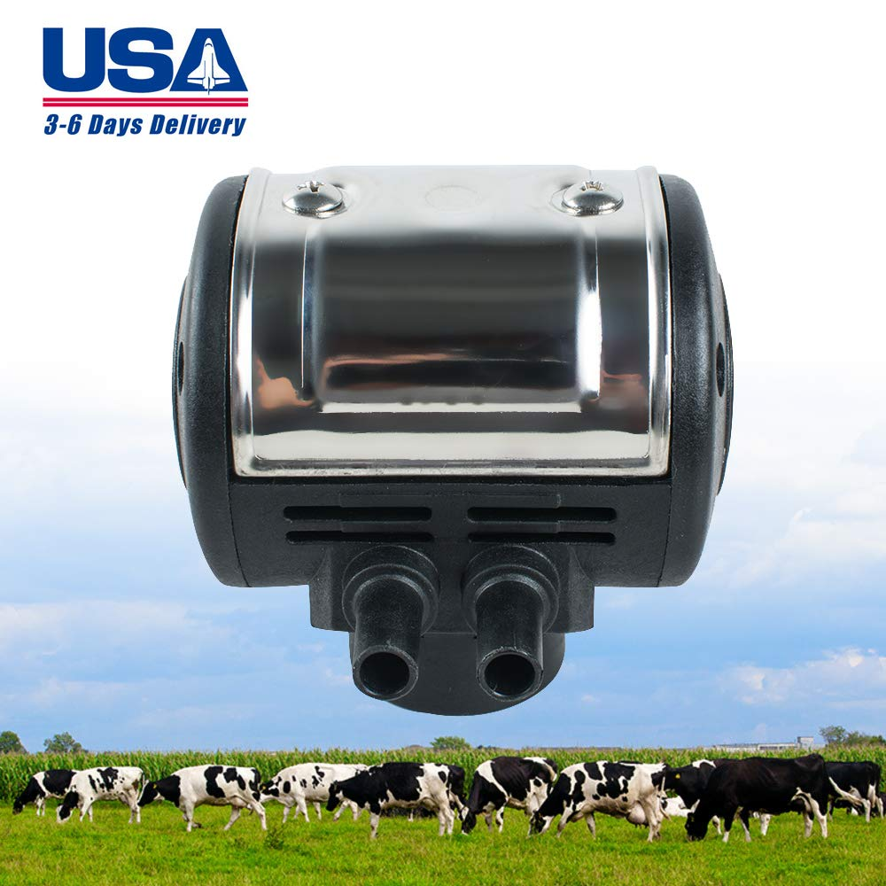Zinnor L80 Pneumatic Pulsator for Cow Milker Milking Machine Dairy Farm Milker (USA Shipping)