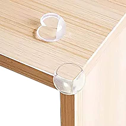 Phenomenal Amazon Com Weiye Corner Protectors Clear Corner Guards Gamerscity Chair Design For Home Gamerscityorg