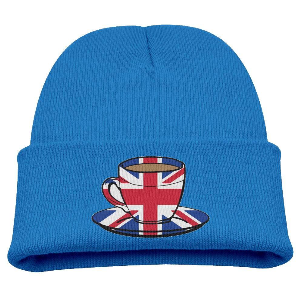 Banana King Art British Flag Baby Beanie Hat Toddler Winter Warm Knit Woolen Cap for Boys//Girls