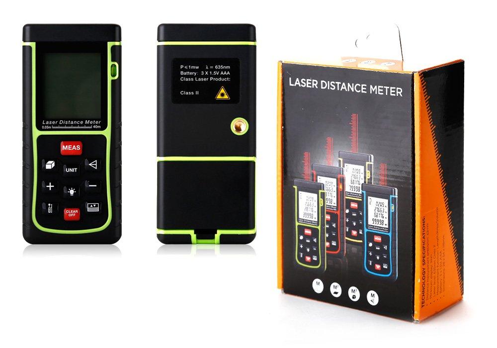 Kaleas Profi Laser Entfernungsmesser Ldm : Gimbal m volumen fläch lcd laser distance meter distanzmessgerät