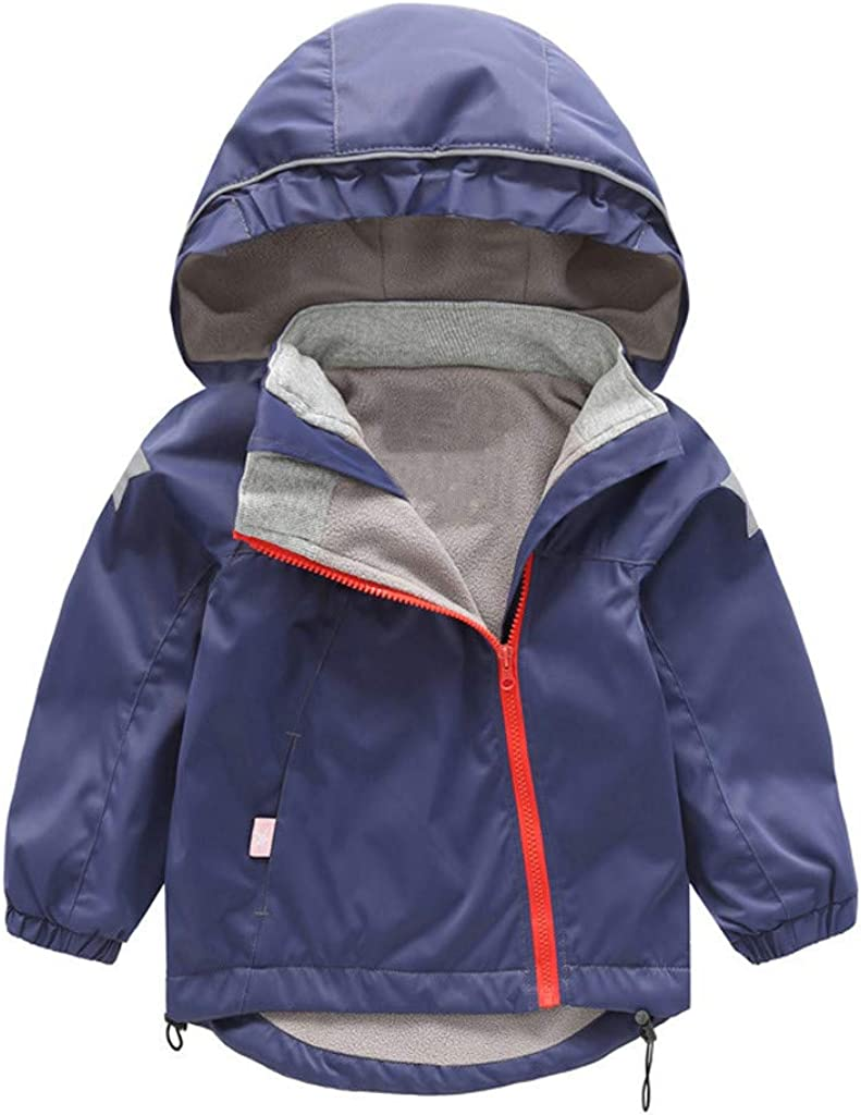FORESTIME Toddler Little Kids Winter Animal Hooded Down Jackets Coats Outwear Windproof Outfits