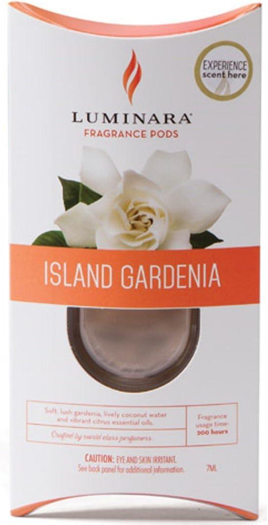 ONE Luminara Fragrance Cartridge ISLAND GARDENIA | For Luminara Fragrance Diffusing Flameless Candle Pillar