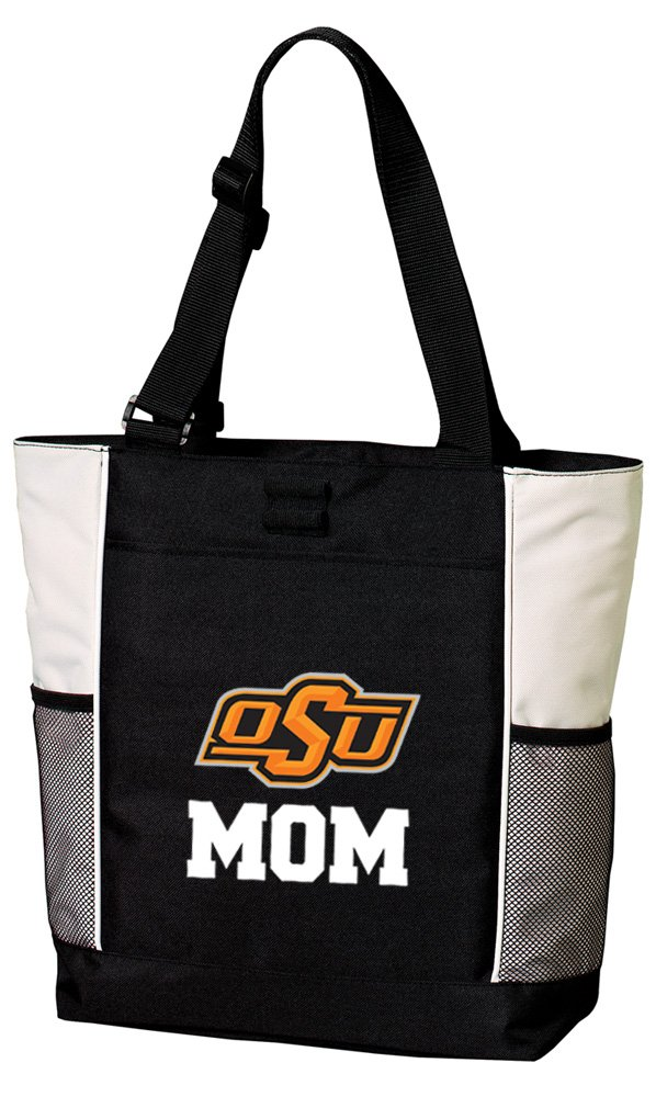 Broad Bay OSU Cowboys Mom Tote Bags Oklahoma State Mom Totes Beach Pool Or Travel