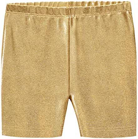 City Threads Girls' 100% Cotton Bike Shorts For Sports or Under Skirts
