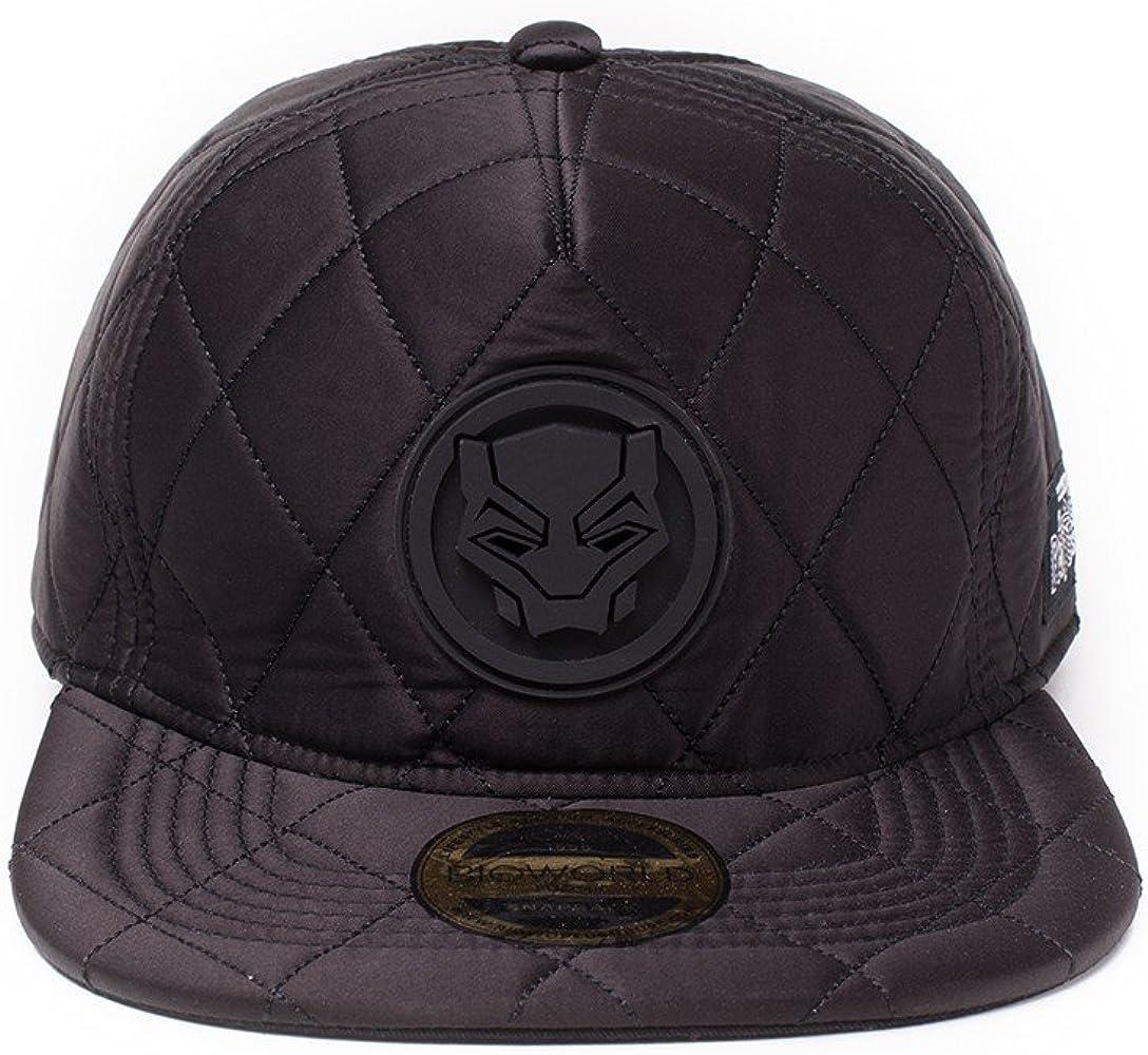 Bioworld Marvel Comics Panther Logo Patch Snapback Baseball Cap ...