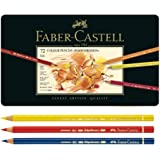 Faber Castell Polychromos Color Pencils Finest Artists Quality,Metal tin Set of 72