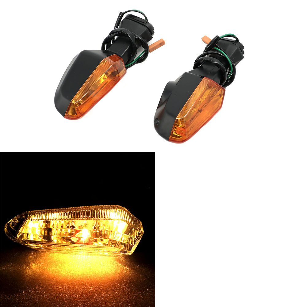 Front Rear Turning Signal Indicator Lights For Kawasaki Ninja 250 Z125 Z250 Z300 Z800 Z1000 Z1000SX Motofans