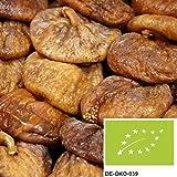 1kg getrocknete Bio Feigen ohne Zusätze - naturbelassene Feigen in Bio Qualität als leckerer Energielieferant oder als Müslizusatz