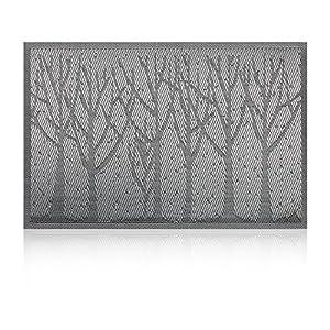 Placemat,U'Artlines Crossweave Woven Vinyl Non-slip Insulation Placemat Washable Table Mats Set