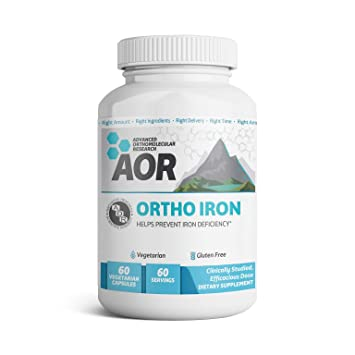 Amazon com: AOR - Ortho Iron, Natural Supplement to Support