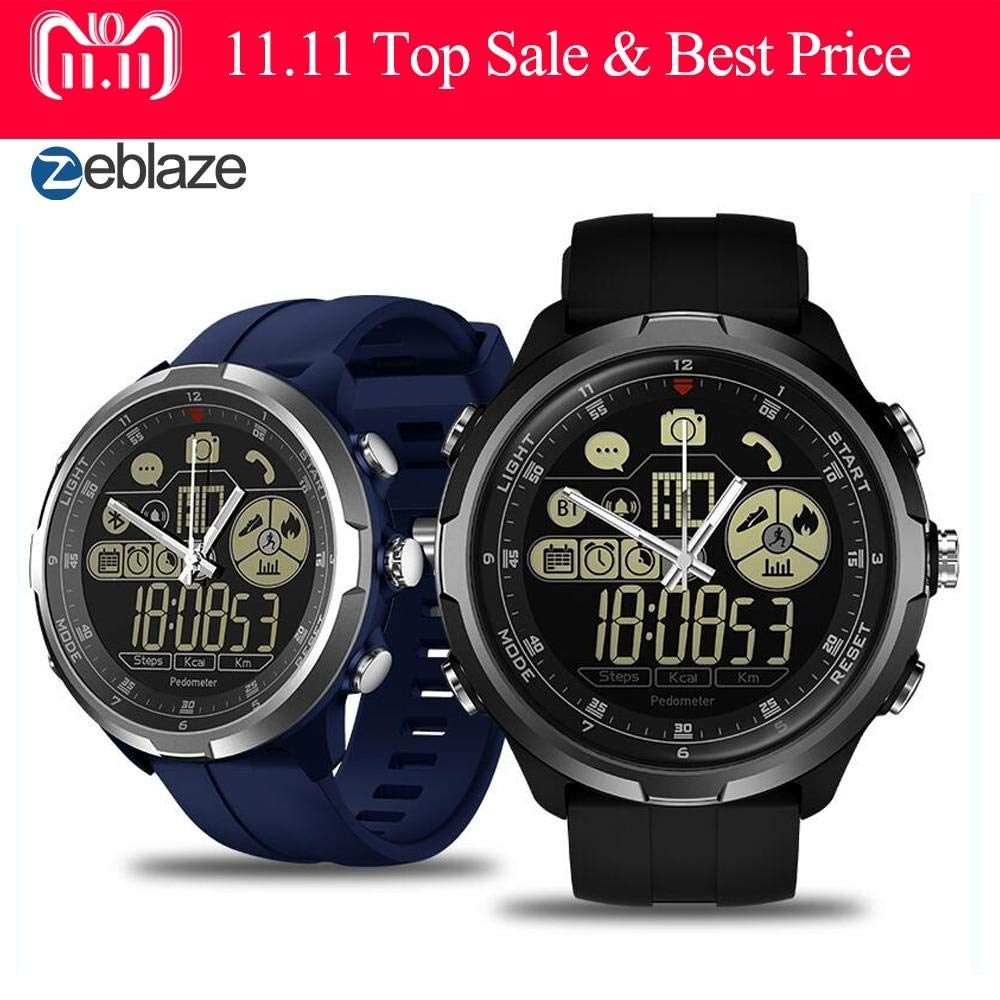 Amazon.com: Zeblaze VIBE 4 HYBRID IP68/50M Water Resistant ...