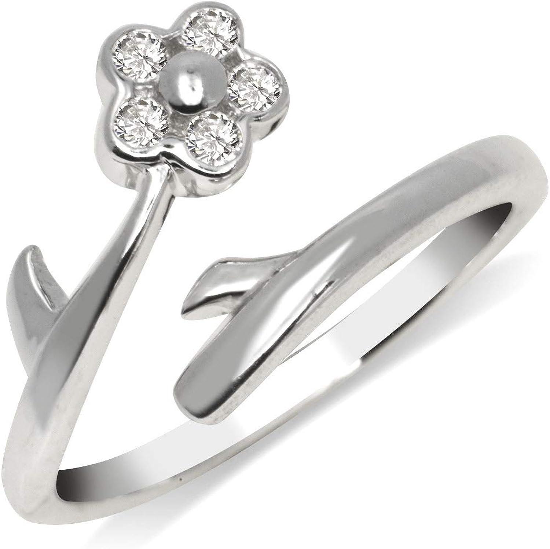 Jewelry Best Seller 10k CZ Toe Ring