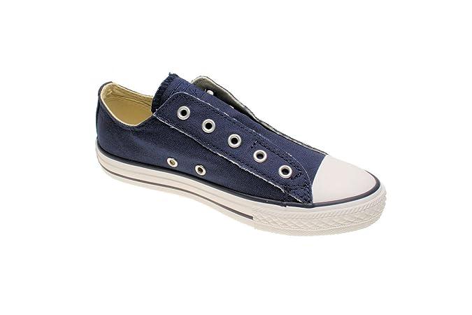 b3cedf84 Converse Converse AS Slip Navy A10127 - Zapatillas de algodón para Hombre:  Amazon.es: Zapatos y complementos