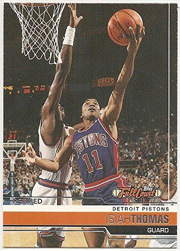 07 Topps Full Court (Isiah Thomas 2006-07 Topps Full Court Retired Detroit Pistons Card #86)